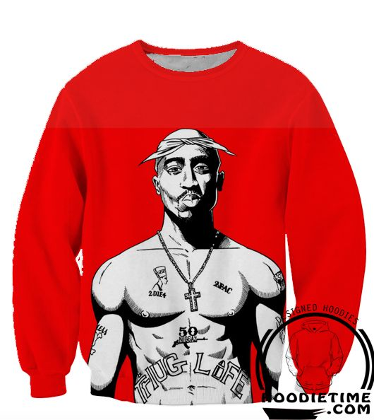 Tupac Thug Life 2pac Hoodie - 3D Pullover Clothing - Hip-Hop Hoodies