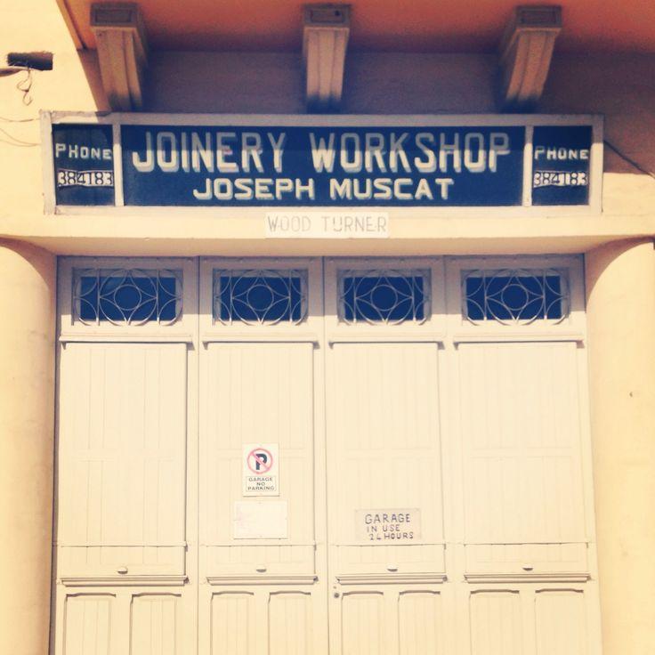 JOINERY WORKSPHOP, JOSEPH MUSCAT, SAN GWANN