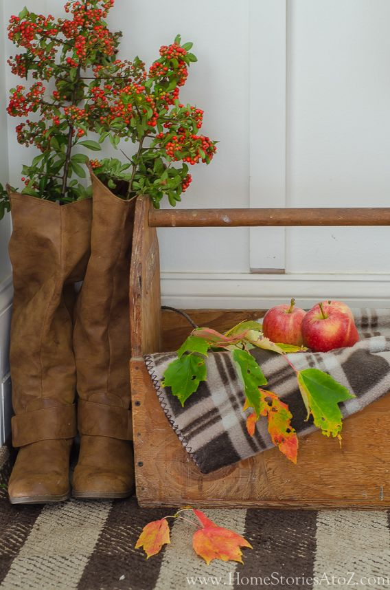 Easy decorating ideas for fall. Fall home tour.