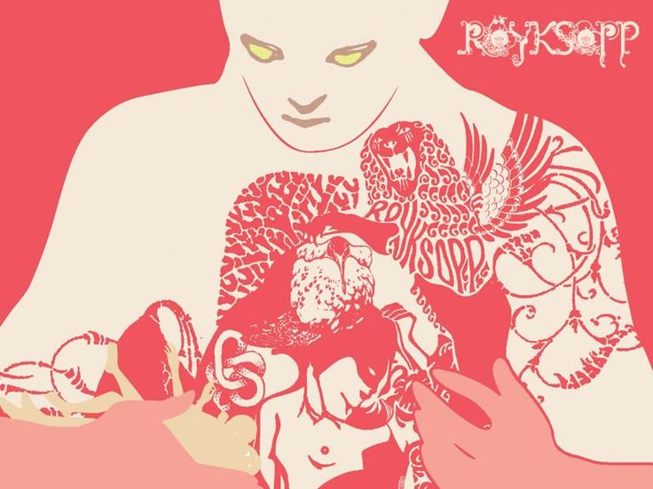 Royksopp - great music, great design.