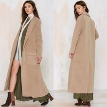 Camel Duster silhouette Shawl Collar Front Flap pockets Back Vent Long Coat Best Seller follow this link http://shopingayo.space
