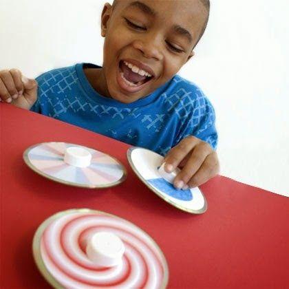 Actividades para Educación Infantil: Manualidades para el verano - 22 Pirindolas recicladas