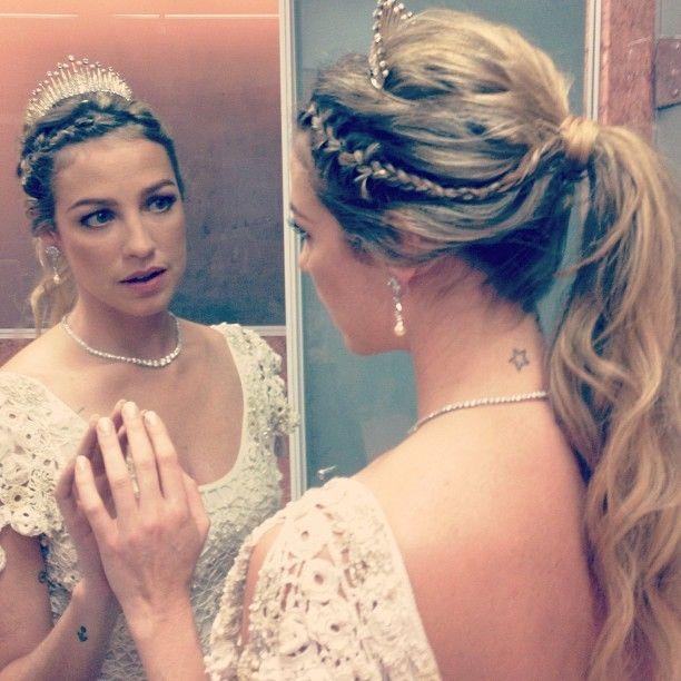 Luana Piovani se casa no Rio de Janeiro
