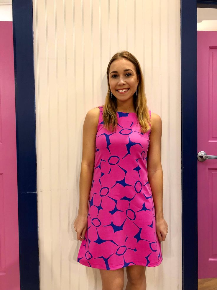 Mahi Gold Ryder Dress - Bo-ho Blossom Pink
