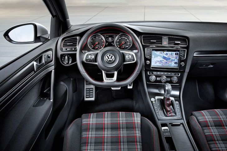 2014 VW Golf GTI interior
