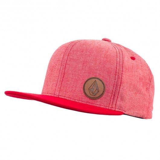 Volcom Upper Corner Stone Hat rad red casquette 6-Panel Snapback 30 e4d1281f9e2