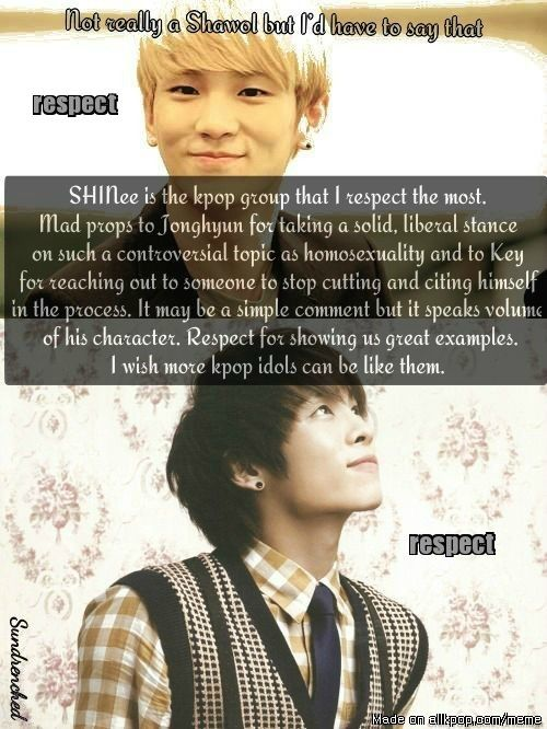 Well, I am a HUGE shawol, but this is still true. SHINee is amazing.