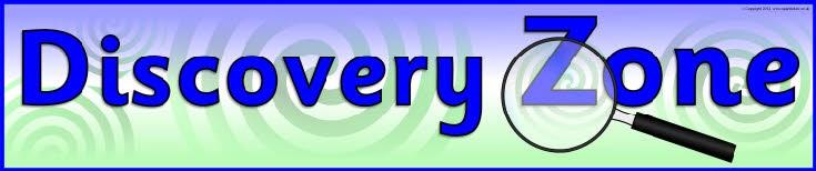 Discovery Zone banner (SB8411) - SparkleBox