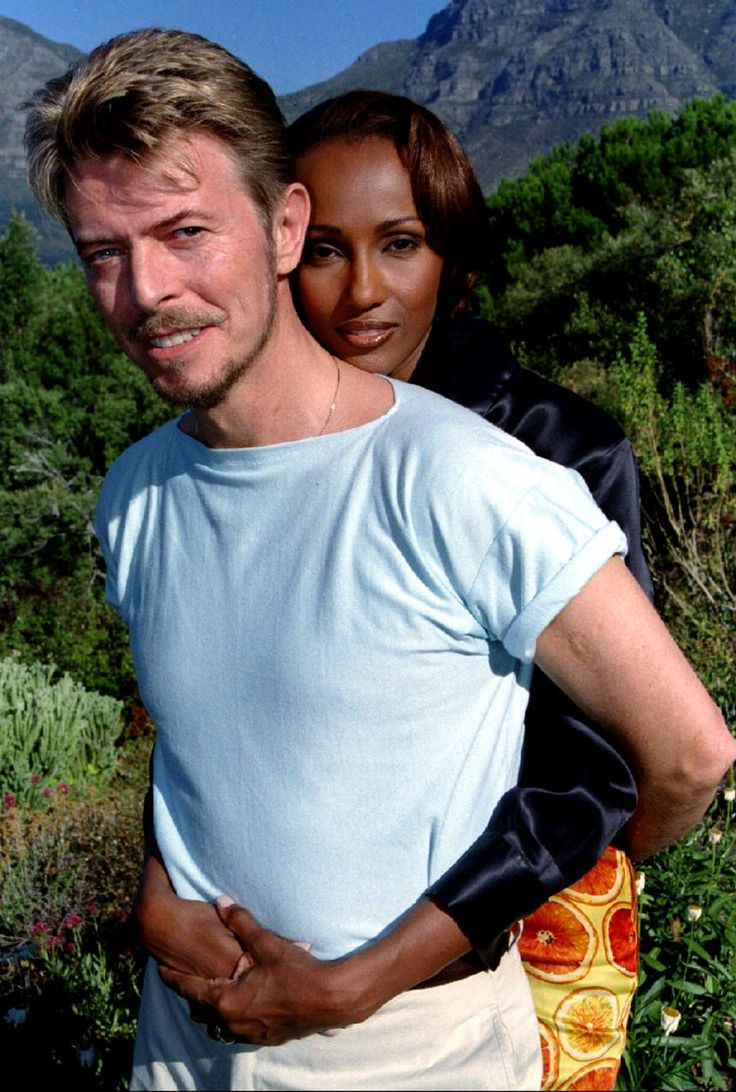 SEE IT: David Bowie and Iman's Marriage, in Pictures