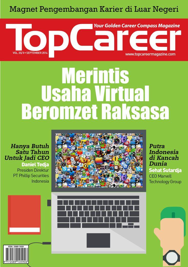Cover Majalah Edisi 35 | Merintis Usaha Virtual Beromzet Raksasa