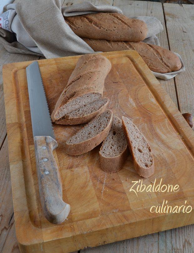 Pane con farina di castagne e birra