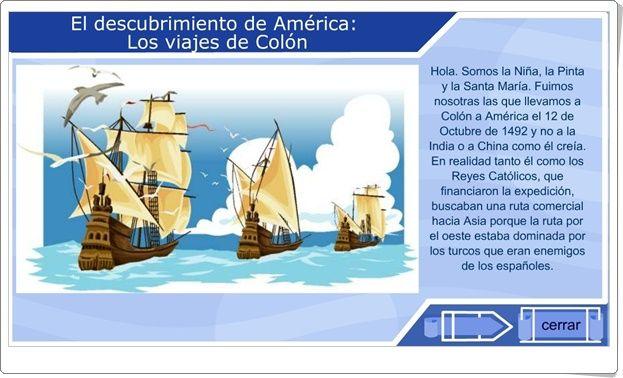 Día Del Descubrimiento De América 12 De Octubre Los Viajes De Colón Viajes De Colon Cultura Española Viajes