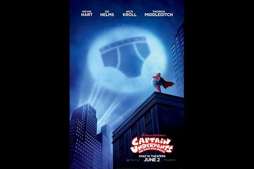 Find out: Movie – Director – Stars   Movie: Captain Underpants: The First Epic Movie ( Animation | Action | Comedy | Family ) 2017 In Theaters    Dir