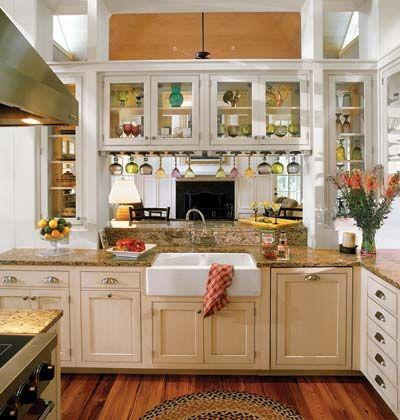open kitchen LOVE!