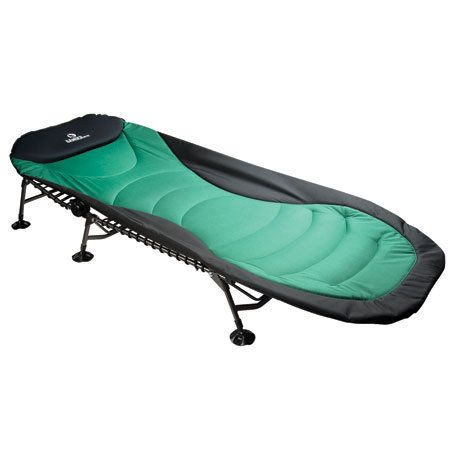 I have this cot and it was the best purchase ever! Spend the extra money for it rather than a cheap one. The legs are telescoping for uneven ground and the padding is so comfy! I bring it when I have to sleep at a friend or family's house...folds up easy!