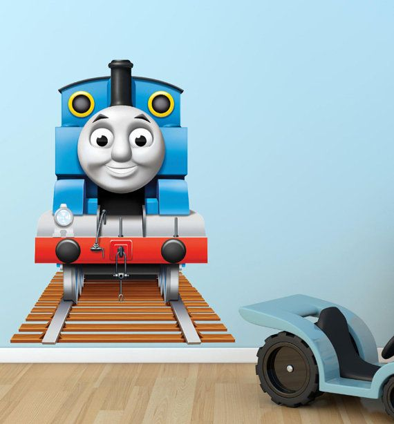 Thomas The Tank Engine Wall Sticker Mural Decor Wall Art
