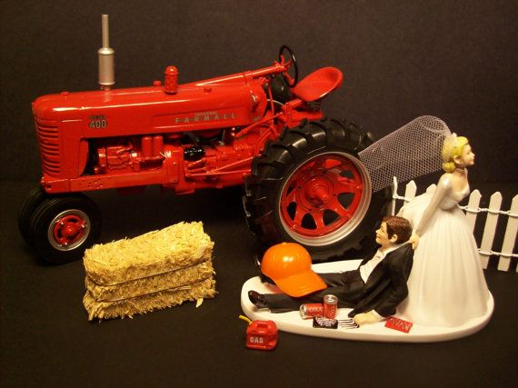 No Farming INTERNATIONAL HARVESTER 300 TRACTOR Bride and ...
