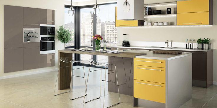 17 best images about cuisines modernes hygena on. Black Bedroom Furniture Sets. Home Design Ideas