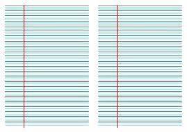 Imprimer du papier quadrillé gros carreaux 8 mm pour réaliser un cahier…