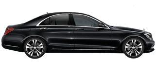 BIZDRIVE-Business-Taxi-Rotterdam-Mercedes-Benz-S-Class-black