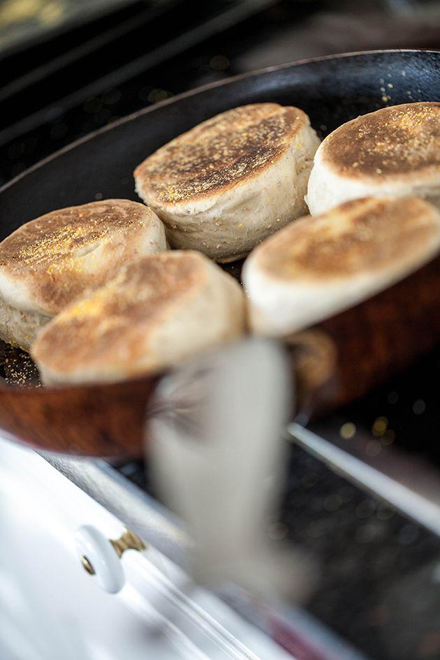 Engelske muffins - smager så englene råber højt i kor