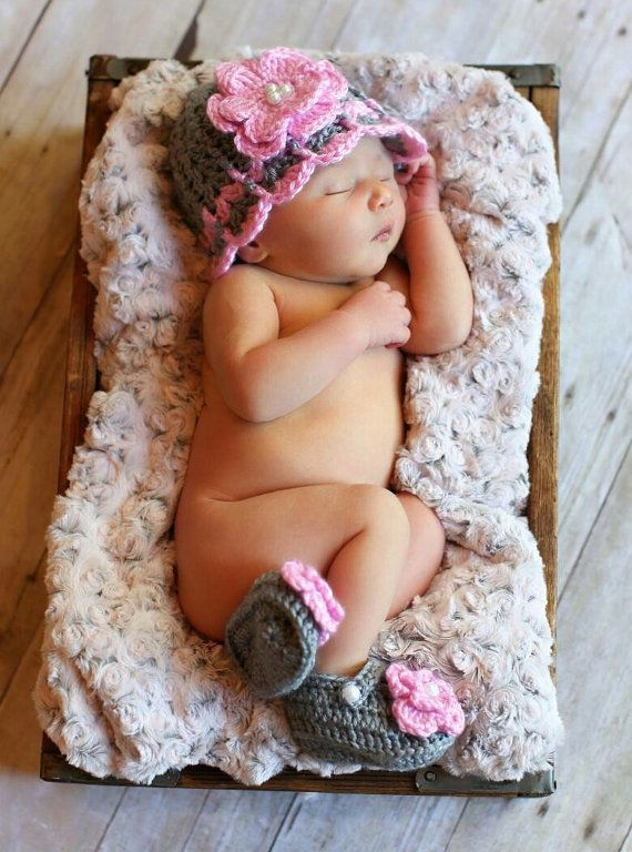 Hey, I found this really awesome Etsy listing at https://www.etsy.com/listing/173529818/crochet-newborn-girl-hat-baby-girl-hat