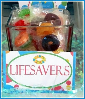 lifesavers candies/ polo candies - can be used as centerpiece
