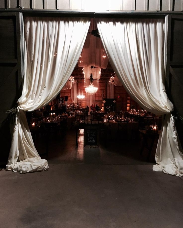 Draping Barn Wedding: 51 Best Fabric Ceiling Draping Images On Pinterest
