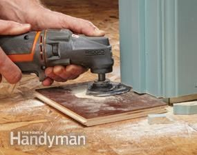 Undercut Door Jamb Amp Tile Vs Laminate Wood Flooring