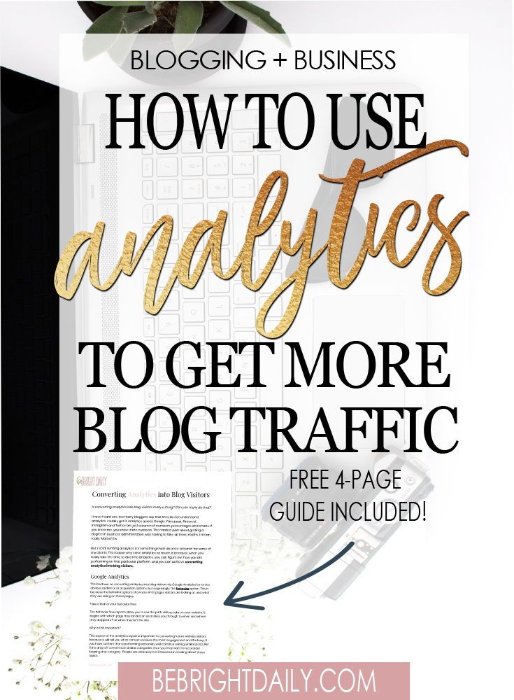 you can figure out how you are performing on that particular platform, and you can achieve converting analytics into blog visitors.But, before you begin, you have to understand how to read them. Here is a quick run down on the analytics I take a look at. Click through to find out more.