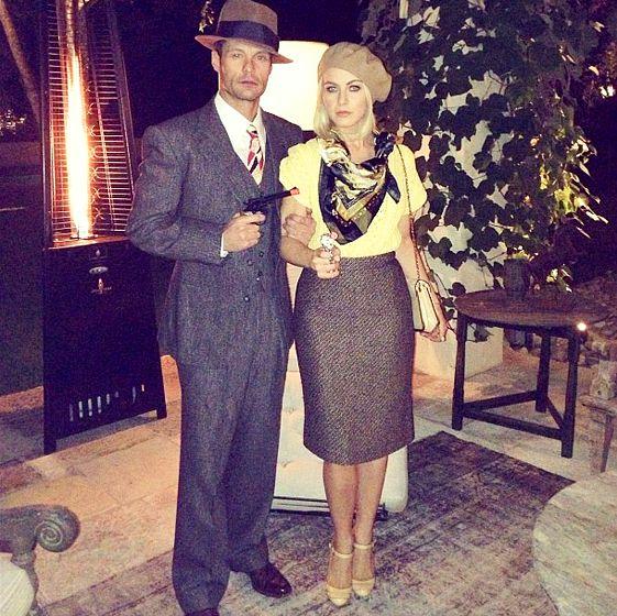 Julianne Hough and Ryan Seacrest