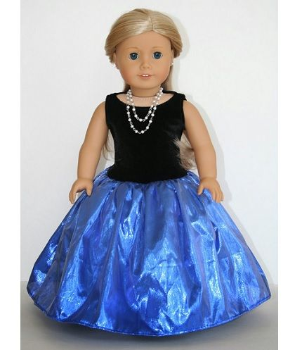 Tutorial: Fancy party dress for an American Girl doll