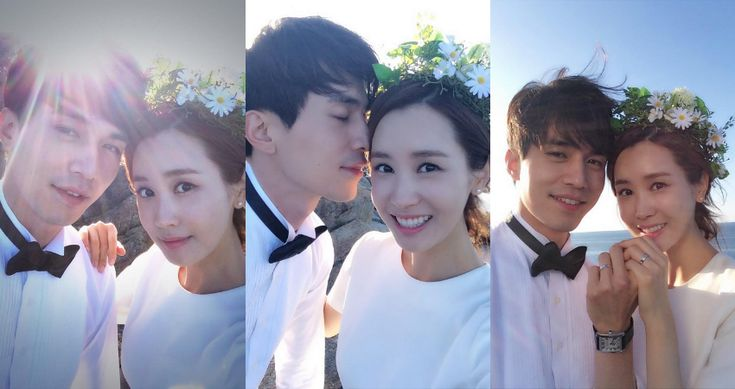 "Lee Dong Wook and Lee Da Hae Pose for Their Last Few Selcas Together on the Set of ""Hotel King"""
