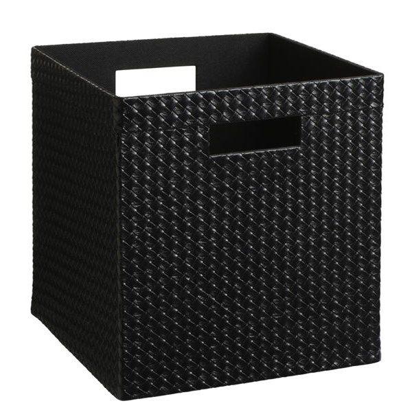 Förvaringsbox Alex 27x27x28 cm Svart - Småförvaring - Rusta