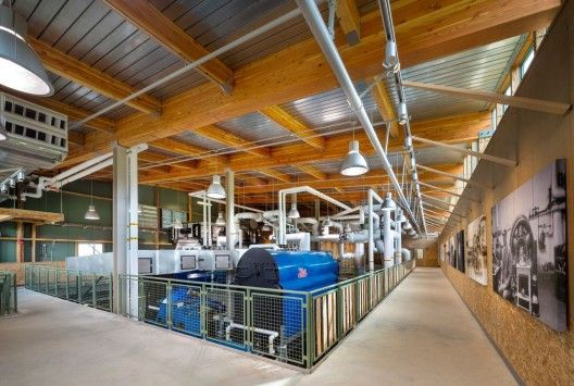 Hotchkiss Biomass Power Plant / Centerbrook Architects and Planners