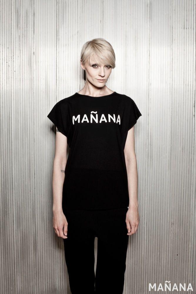 NOMBRE negro - Mañana Clothes