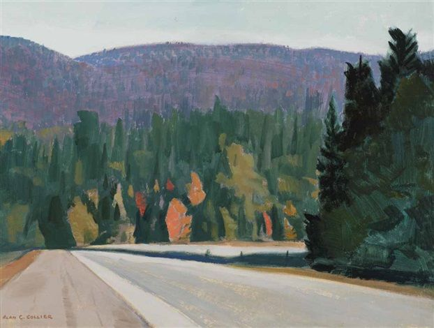 Beside Lake Superior by Alan Caswell Collier