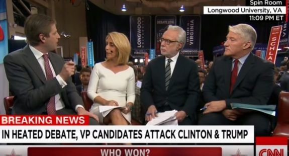VIDEO=> Eric Trump Goes on CNN After VP Debate and OWNS Liberal Panel  Jim Hoft Oct 5th, 2016