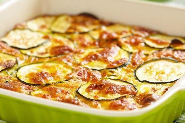 Tortino di zucchine al forno
