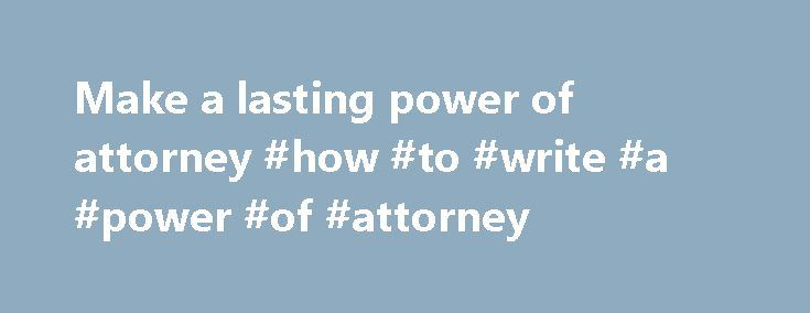 Power of Attorney Forms By State