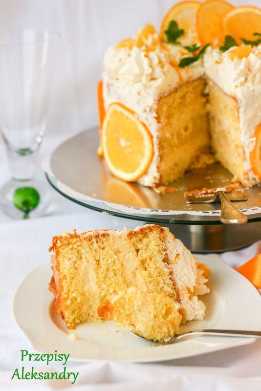 "Orange cake ""Lambada"" / Tort pomarańczowy ""Lambada"""