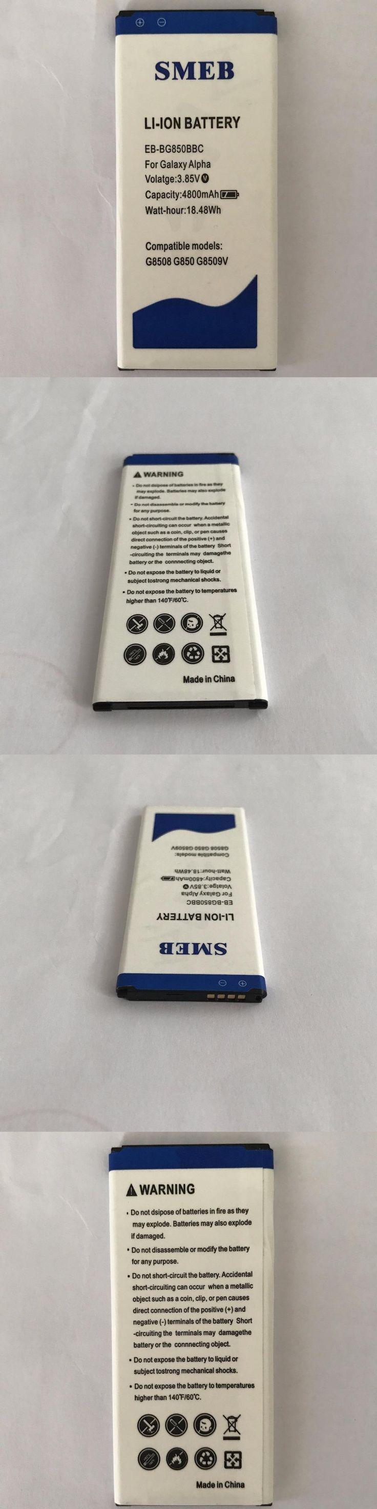 Original SMEB Phone Battery EB-BG850BBC For Samsung Galaxy Alpha G850 SM-G850F G8508S G850M 4800mAh Best Quality High Capacity