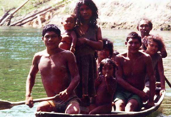 Индейцы Пираха - народ с нестандартными взглядами на жизнь - Картина Мира