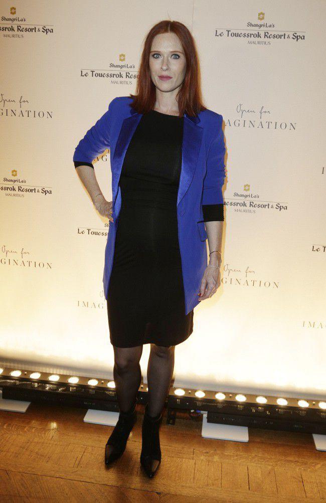 Audrey Fleurot Sep 2015 pregnant (650×1003)