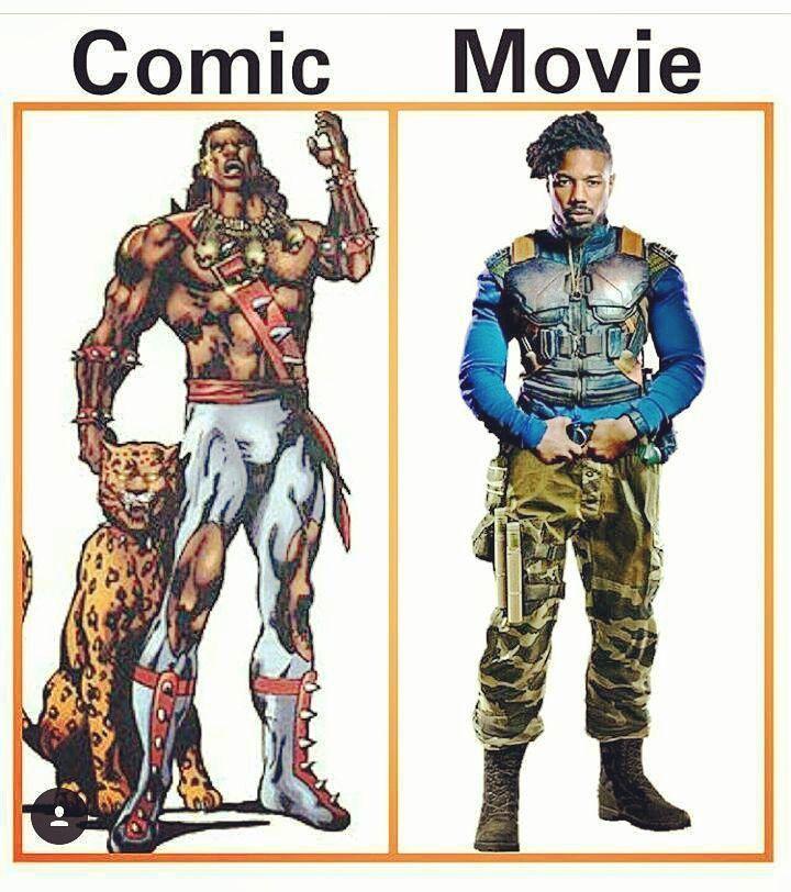 Amazing  Black Panther villain!!! Killmonger Golden Jaguar  Comic and movie  whot is  your favorite? Tu favorito es?? Primeras imágenes del trailer  de Avengers Infinity War  Link en la bio!!! No olvides suscribirte  - - -  #marvel #marvelcomics #marvelstudios #myfriends #marveluniverse #follownow #follow  #starwars #ironman #spidermanhomecoming #spiderman #like4like #like #avengers #likeforfollow #it #eso #sigueme #youtuber  #perú #vamosperu #infinitywar #ThorRagnarok #BlackPanther…
