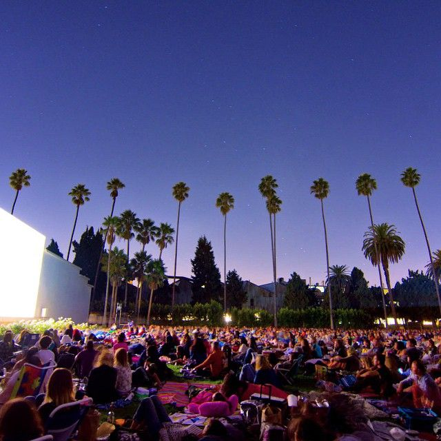 SUMMER // Hollywood Nights at Hollywood Forever Cemetery - Cinespia schedule.