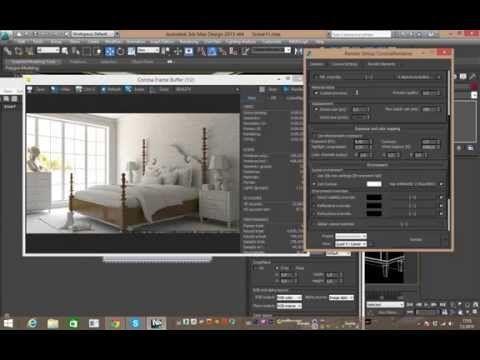 HDR Lighting in Corona Render - YouTube