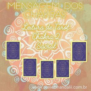 Atelier Mandalii: Leitura de Tarot - Chakra Sacral