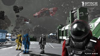 Space Engineers - A very cool new game that is available on Steam.