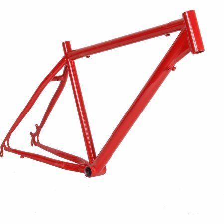 Cycle Force Cro-mo MTB 26 Frame, 20 inch, Red